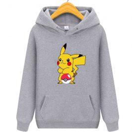 Bluza Pikachu – bluza z kapturem dla dziewczynki i chłopca