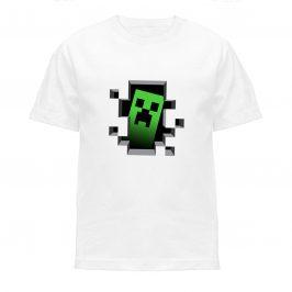 Koszulka minecraft creeper – Koszulki dla dzieci