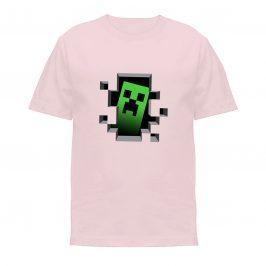 Koszulka minecraft – creeper – Koszulki dla dzieci