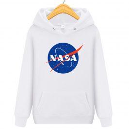 NASA – czarna bluza z kapturem damska