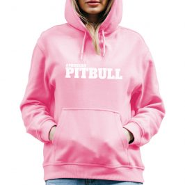 Bluza PITBULL damska – American Pitbull z kapturem