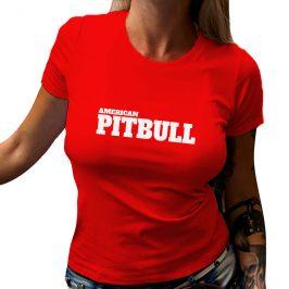 Koszulka damska PITBULL – t-shirt American Pitbull
