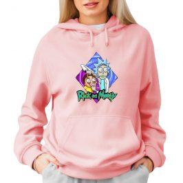 Bluza Rick and Morty damska – różowa